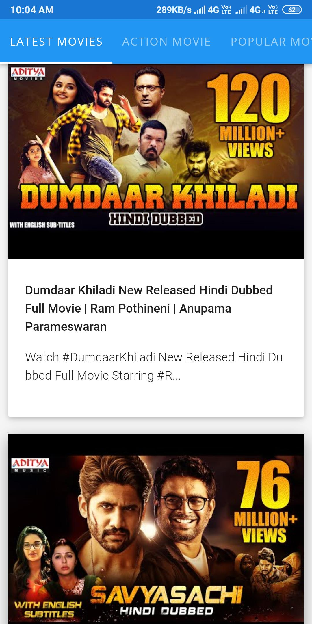 South Hd Hindi dubbed movie for Android - APK Download