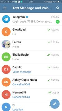 Text Messages And Voice Calling poster