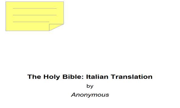 bible-italian poster