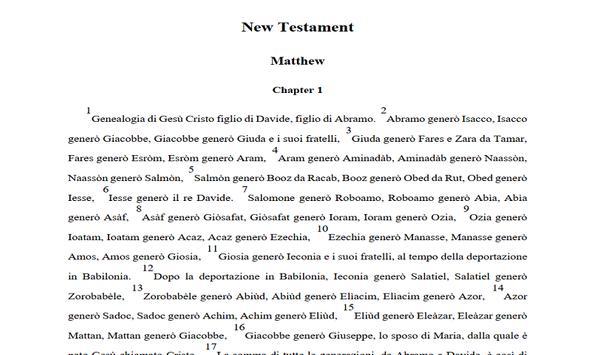bible-italian screenshot 3