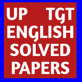UP TGT ENGLISH SOLVED PAPERS icon