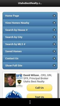 """""""Utah's Best"""" Home Search poster"""
