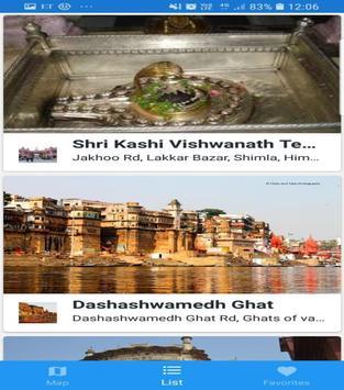 Varanasi guide screenshot 1