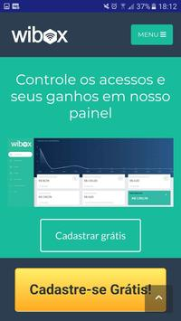 Wibox Ganhe dinheiro compartilhando seu Wi-Fi poster