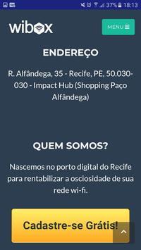 Wibox Ganhe dinheiro compartilhando seu Wi-Fi screenshot 1