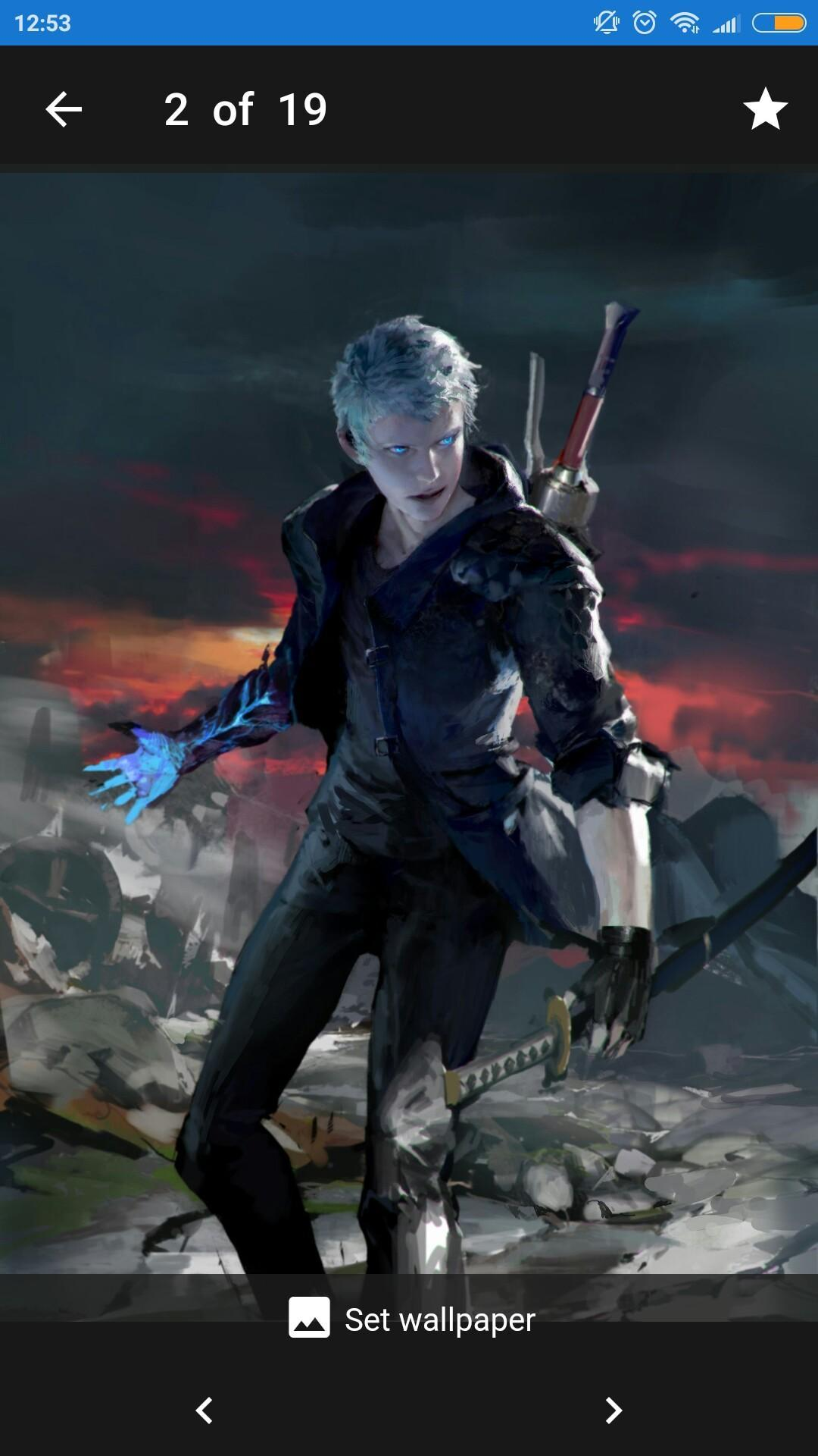 Wallpapers And Arts From Devil May Cry 5 For Android Apk Download