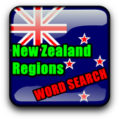 Word Search New Zealand RegioNS LCNZ WordFind Game icon