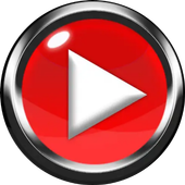 YouTube play: Tonton video, saluran,&daftar putar icon