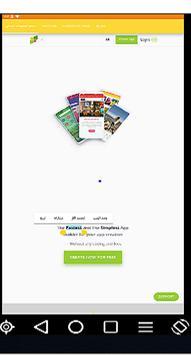 صانع التطبيقات المجاني screenshot 2
