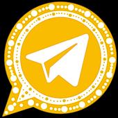 تيليجرام الذهبي icon
