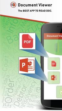 All Document Reader - DOC PPT XLS PDF TXT poster