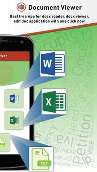 All Document Reader - DOC PPT XLS PDF TXT Ekran Görüntüsü 1