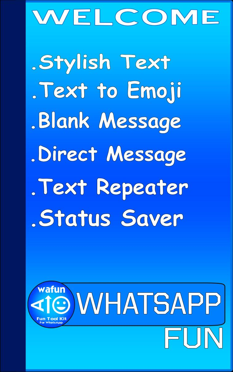 Wafun Fun Tool Kit For Whatsapp Stylish Text For Android