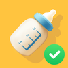 授乳ノート 無料アプリ (毎日の授乳 記録) アイコン