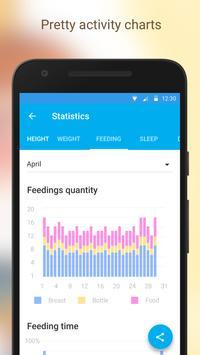 Baby Tracker. Breastfeeding Tracker. Newborn screenshot 4