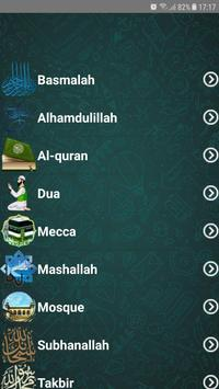 Islamic Sticker WhatsApp for WAStickerApps Cartaz