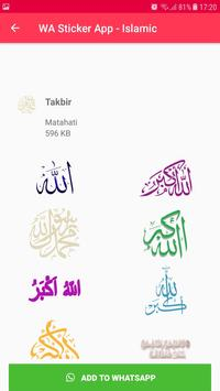 Islamic Sticker WhatsApp for WAStickerApps imagem de tela 14