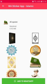 Islamic Sticker WhatsApp for WAStickerApps imagem de tela 19