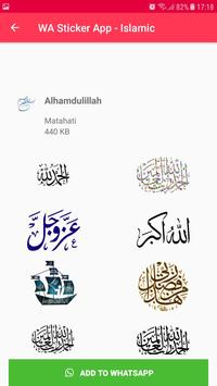 Islamic Sticker WhatsApp for WAStickerApps imagem de tela 10