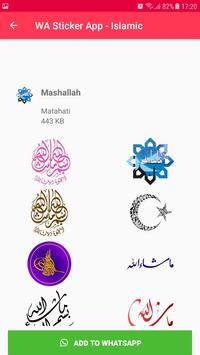 Islamic Sticker WhatsApp for WAStickerApps imagem de tela 21
