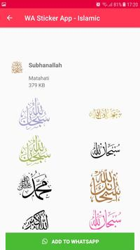 Islamic Sticker WhatsApp for WAStickerApps imagem de tela 23