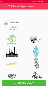 Islamic Sticker WhatsApp for WAStickerApps imagem de tela 9
