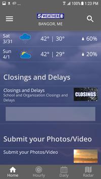 WABI TV5 Weather App screenshot 1