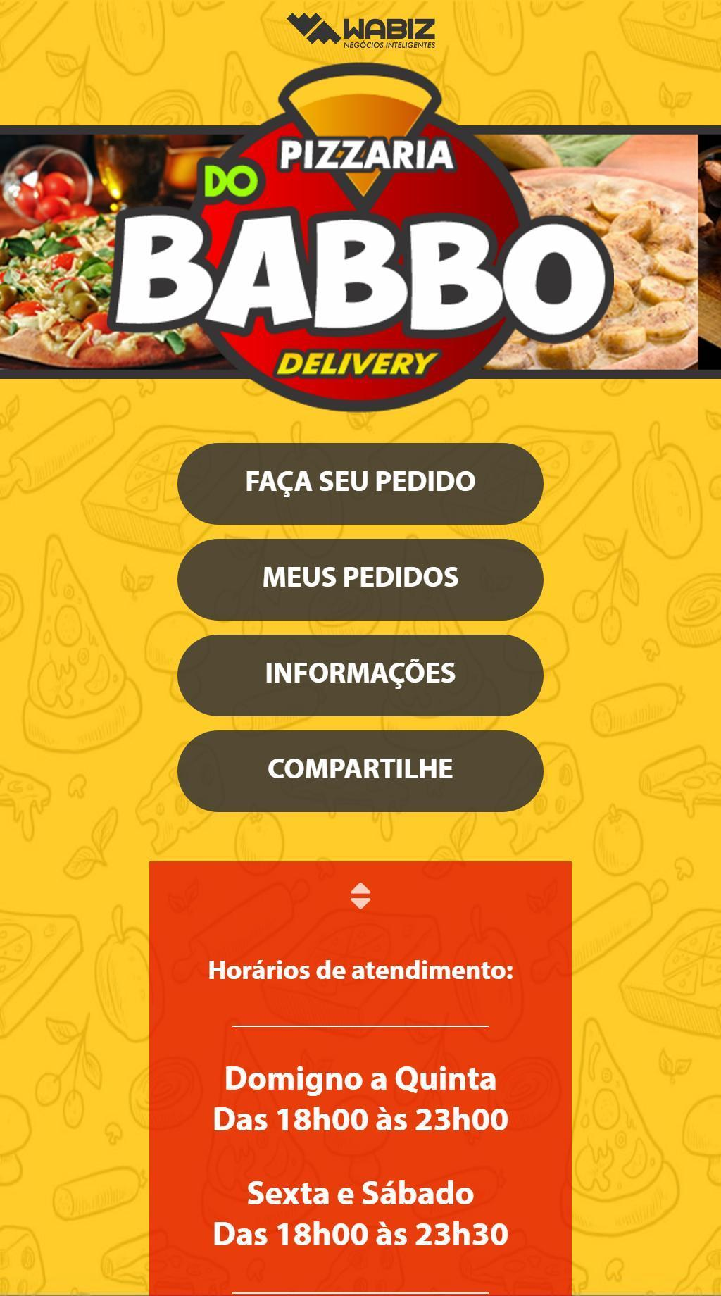 Pizzaria do Babbo poster
