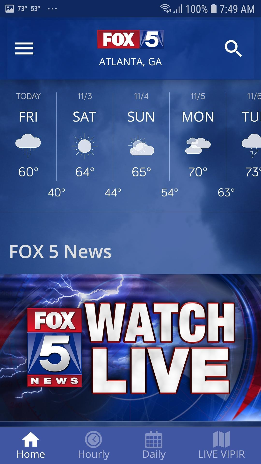 FOX 5 Storm Team Weather Radar for Android - APK Download