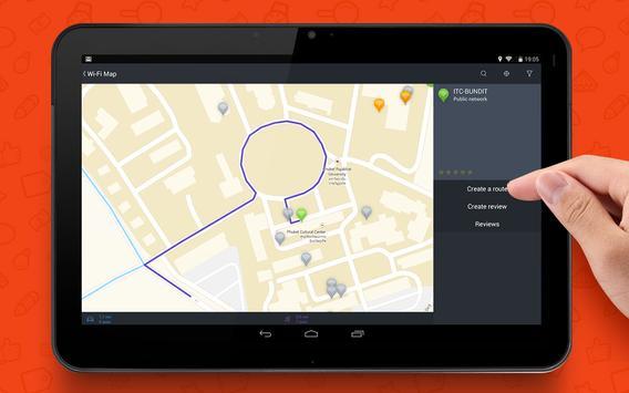 WADA Wi-Fi Maps - Free Wifi screenshot 5