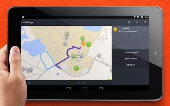 WADA Wi-Fi Maps - Free Wifi screenshot 9