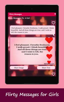Romantic SMS Texts & Flirty Messages - Love Images screenshot 6