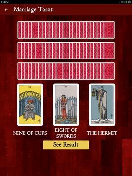 Marriage Tarot screenshot 6