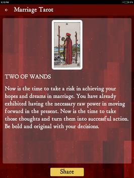 Marriage Tarot screenshot 7