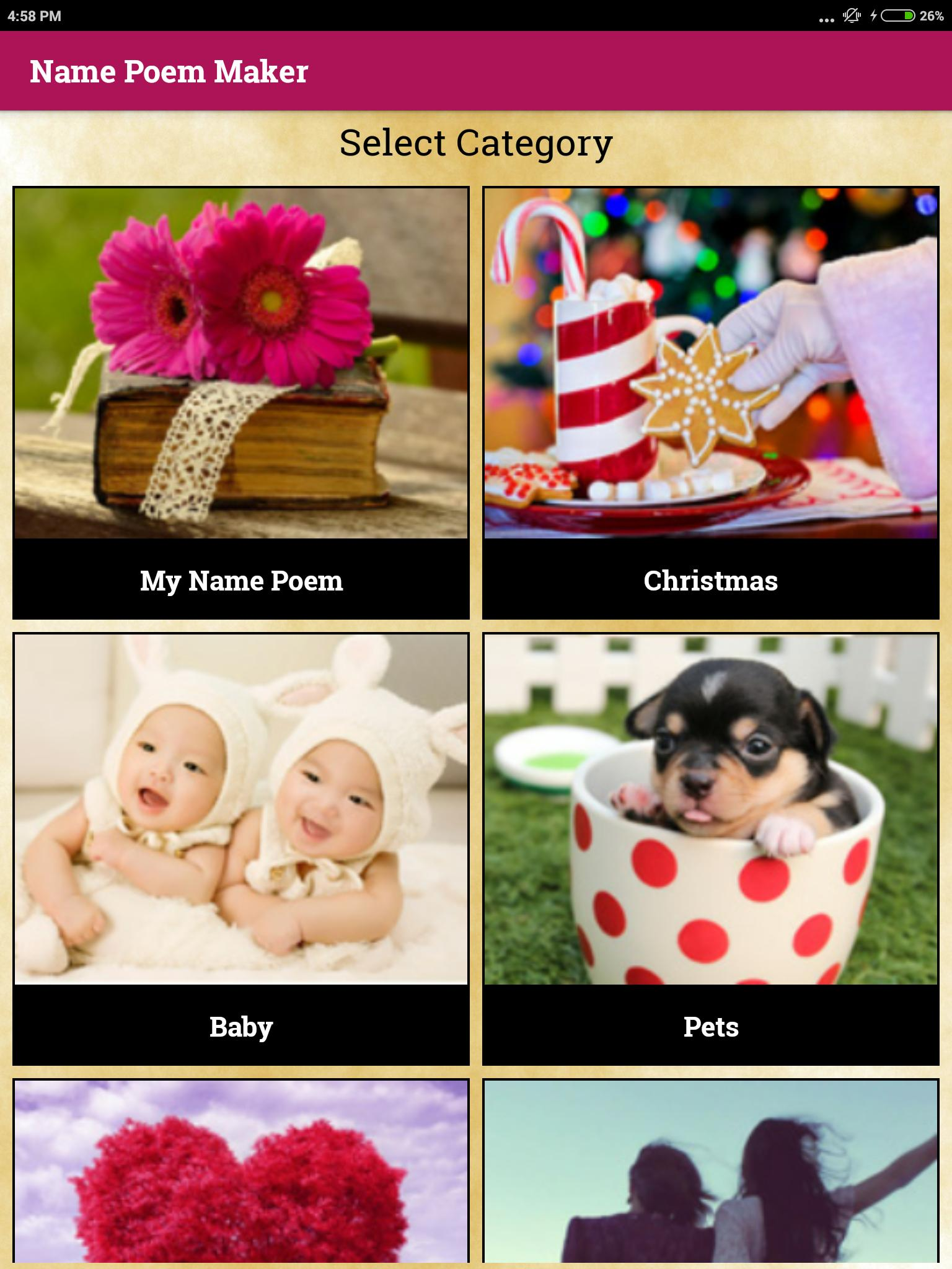 Name Meaning Generator – Free Poem Maker for Android - APK