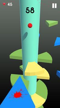 Telester Spiral : Helical Ball Jump screenshot 3