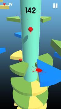 Telester Spiral : Helical Ball Jump screenshot 1
