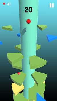 Telester Spiral : Helical Ball Jump screenshot 2