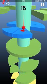 Telester Spiral : Helical Ball Jump screenshot 4