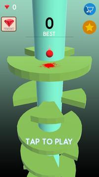 Telester Spiral : Helical Ball Jump screenshot 5