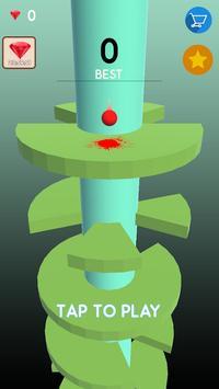 Telester Spiral : Helical Ball Jump screenshot 8
