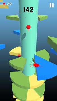 Telester Spiral : Helical Ball Jump screenshot 9