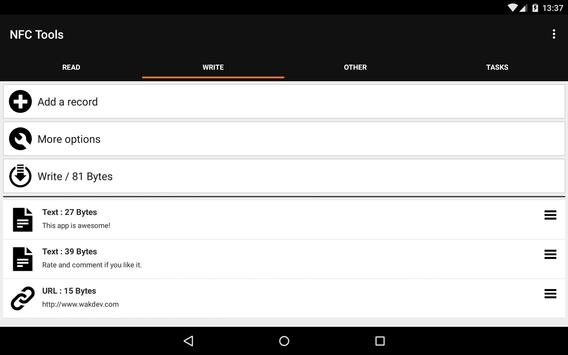 NFC Tools screenshot 11