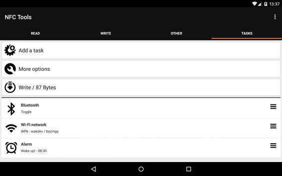 NFC Tools screenshot 12