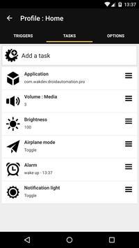 Droid Automation screenshot 2