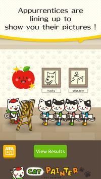 Cat Painter poster