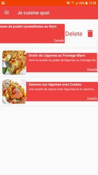 Je Cuisine Quoi screenshot 6