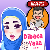 ikon Sticker Indonesia untuk Whatsapp + Status Keren WA