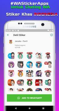 Sticker Indonesia untuk Whatsapp + Status Keren WA screenshot 12