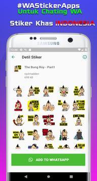 Sticker Indonesia untuk Whatsapp + Status Keren WA screenshot 13